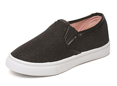 CHATTERBOX. Zapatillas de Material Sintético Para Niña Leanne Black