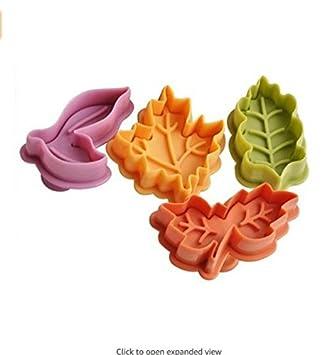 Ndier Juego de 4 moldes para Galletas y moldes de repostería, para decoración Tartas con diseño de Star Wars Color Aleatorio (a): Amazon.es: Hogar