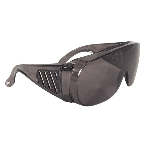 12 Pack Radians Chief OTG Safety Eyewear 360-S Smoke