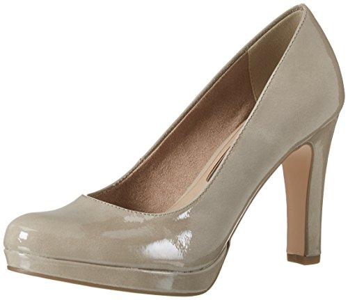 Tamaris 22426, Zapatos de Tacón para Mujer Beige (Pepper Patent 329)