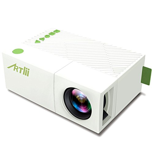 Mobile projector artlii mini portable projector for iphone for Mini portable projector