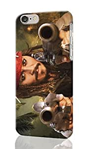 iphone 4s Case 3D - guns movies pirates of the caribbean johnny depp actors captain jack sparrow Patterned Beauty Skin Hard 3d Case Cover for Apple iphone 4s with 4.7 inches - Haxlly Designs Case