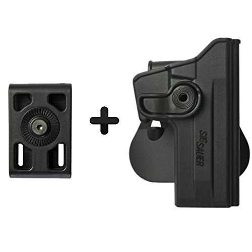 - IMI Defense Z1070 Interchangeable Paddle / Belt - Roto Retention Concealed Carry Polymer Pistol Handgun Holster For Sig Sauer 226 (9mm/.40/357), P226 Tactical Operations (Tacops)