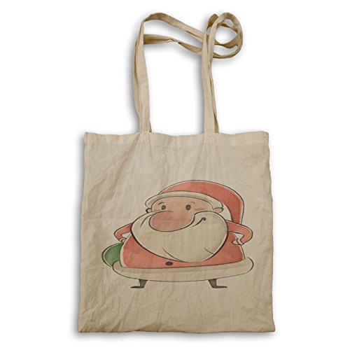 Tote Christmas Happy bag s214r Santa Santa Claus Claus wqxvOCcXSc