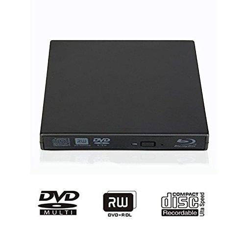 tengertang USB External blu-Ray Drive, Portable DVD Burner,BD-ROM,DVD/CD-RW/ROM Writer,Support xp/Win/ Linux System Related Desktop, Notebook, etc.(Black) by tengertang (Image #6)