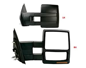 2007 2013 ford f 150 power heated signal texture cover towing mirror pair automotive. Black Bedroom Furniture Sets. Home Design Ideas
