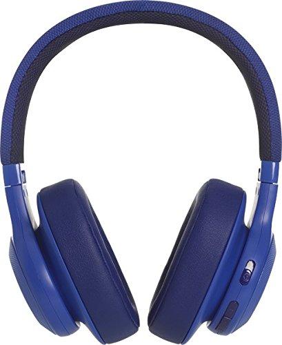JBL E55BT - Auriculares bluetooth supraaurales plegables con cable y control remoto universal, batería de hasta 20h, azul: Amazon.es: Electrónica