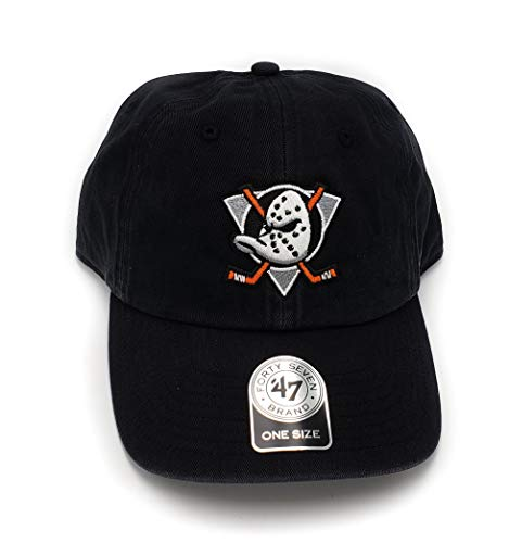 '47 Anaheim Ducks Vintage Logo Clean Up Adjustable Hat from '47