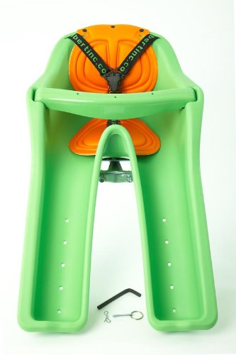 iBert Safe-T-Seat Front Child Seat (Green,38-Pounds limit)
