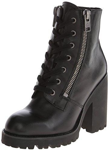 Women's Ash 'Poker' Leather Boot Black Size 40 EU