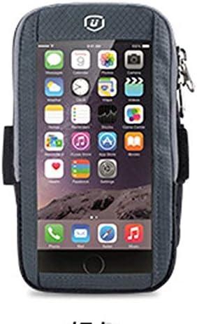 YDFSBB Pantalla Táctil Brazalete Deportivo para Correr Al Aire Libre Funda para Teléfono Móvil Soporte para Brazalete Banda para Teléfono Móvil para 5.8 Pulgadas iPhone X 7 6S 6 Más Plata: Amazon.es: