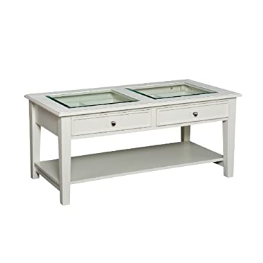 Panorama Cocktail Table - Off-White