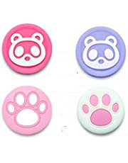 Animal Crossing Silicone Analog Thumb Grip Joystick Covers Caps Game Thumbstick Replacement for Nintend Switch Lite/NS Joy-con Controller (14)