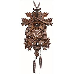 Anton Schneider Quartz Cuckoo Clock Hunting clock, with music