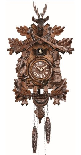 Quartz Cuckoo Clock Hunting clock, with music