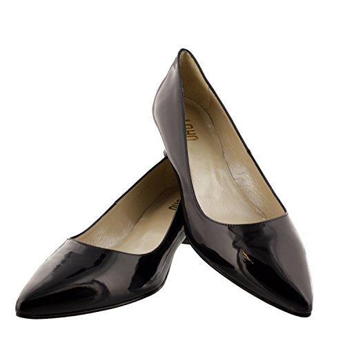 Patent Court Shoe Navy UK10 Loho Josie qgAxwYf