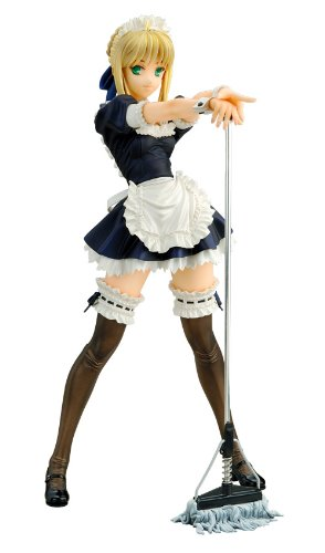 Alter Fate/hollow ataraxia: Saber PVC Figure (Maid Version R) (1:6 Scale)