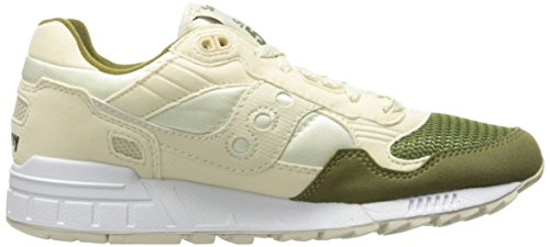 Saucony Originals Herren Shadow 5000 Fashion Sneaker Creme / Grün