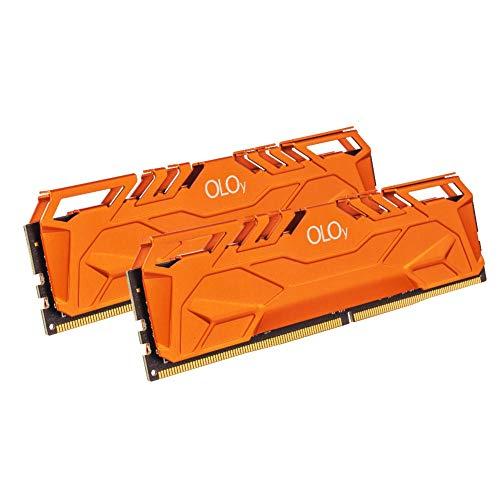 OLOy DDR4 RAM 64GB (2x32GB) 3000 MHz CL16 1.35V 288-Pin Desktop Gaming UDIMM (MD4U3230161DHTDA)