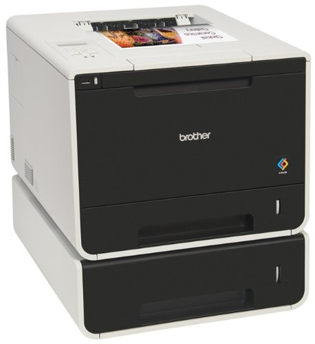 Brother Printer HLL8350CDWT Wireless Color Laser Printer, Amazon Dash Replenishment Enabled by Brother (Image #2)