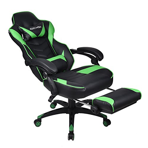 Gaming for Back Computer Chair with Pillows Lumber