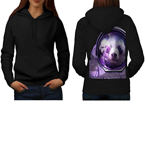 [Astronaut Panda Bear Spacefly Women S Hoodie Back | Wellcoda] (Bear Jew Costume)