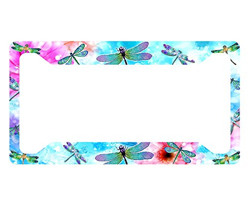 (Dragonflies License Plate Frame)