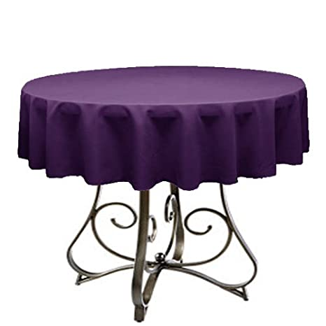 Tremendous Tablecloth For 48 Round Table By Florida Tablecloth Factory Plum Home Interior And Landscaping Palasignezvosmurscom