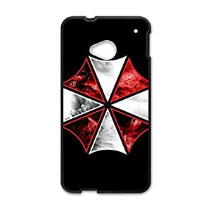 Red and white umbrella Cell Phone Case for HTC One M7