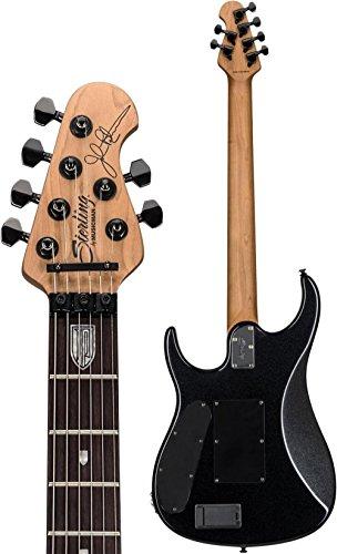 Sterling By MusicMan 6 String Sterling by Music Man, JP160, John Petrucci Signature Guitar, Black Metallic, JP160-BKM)