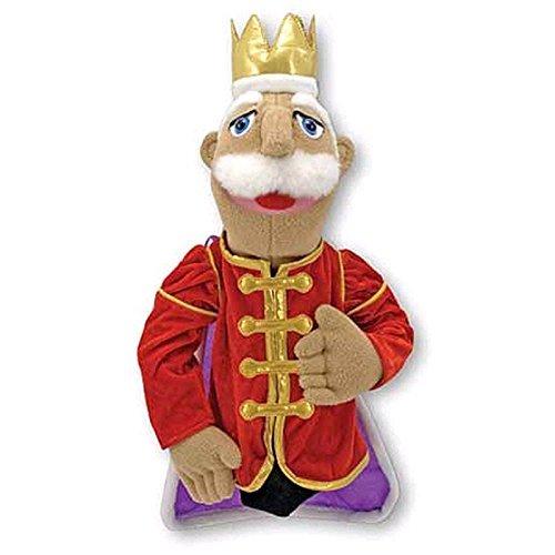 MELISSA & DOUG KING PUPPET (Set of 3) - Doug King Puppet