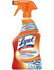 Lysol Antibacterial Kitchen Cleaner, Kitchen-Pro Power Degreaser, 650ml, Unbeatable Grease Cutting