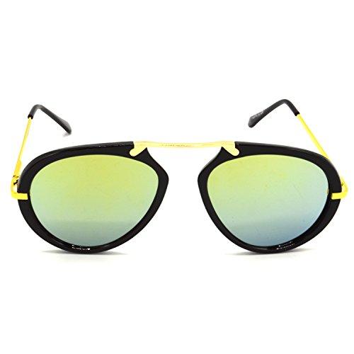 c69284b313 HRINKAR Silver Wrap Around Sunglasses ( HRS427-BK-SLVR ) durable modeling