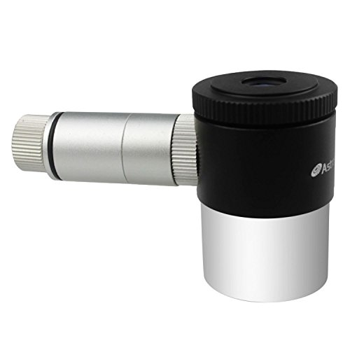 Astromania 12.5mm Illuminated Reticle Plossl Telescope Eyepiece - for Perfectly Guided astrophotos
