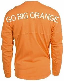 Blend Football T-Shirt Knoxville Vols UT UTK Womens Long Sleeve Tri Official NCAA University of Tennessee Volunteers