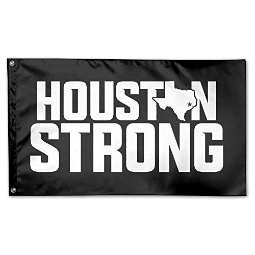 Us Houston Strong 100% Polyester Fiber Flag Of Demonstration 3 'x 5 - Houston 100