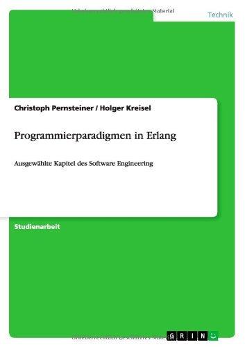 Download Programmierparadigmen in Erlang (German Edition) Pdf