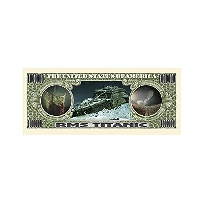 American Art Classics Pack of 25 - Titanic Million Dollar Bill: Toys & Games