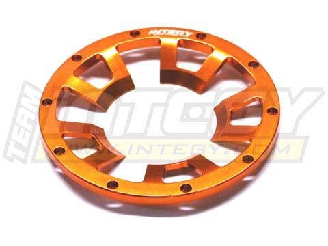 Integy RC Model Hop-ups T6818ORANGE Rear Beadlock Ring (1) for HPI Baja 5B