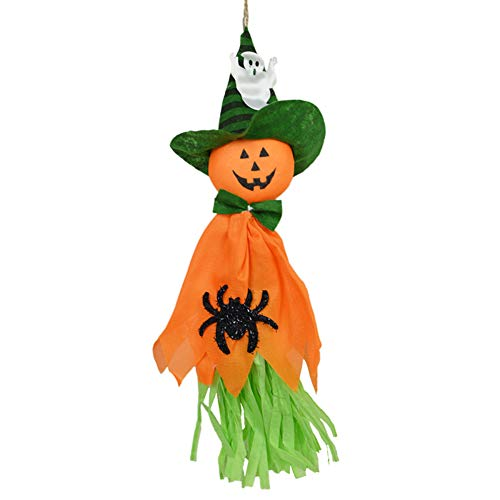 Halloween Decoration, Cute Ghost Hanging Hangtag Decoration, Kids Funny Joking Toys Props Halloween Party Supplies