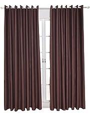 ستائر معتمة عازلة للحرارة لغرفة المعيشة 99.06 سم × 127.9 سم من ديديل