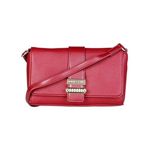 Versace Jeans E1VQBBP6_75462 Pochette Donna Pelle Rosso