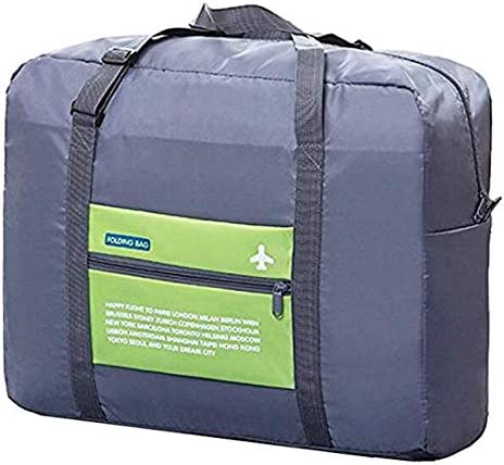 Impfunical Travel Duffel Bag Foldable Lightweight, Foldable Travel Duffel Bag Luggage, Travel Duffel Bag for Women Weekender for Gym, Sports, Travel, Luggage, Carry-On Bag, Hiking and Camping Green