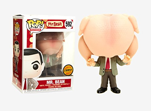 (Funko Mr. Bean Pop Vinyl Figure #592 Chase Variant Limited Edition)