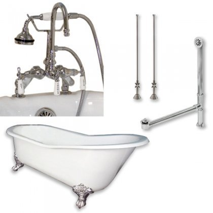 Cast Iron Slipper Clawfoot Tub 67