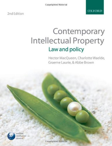 Contemporary Intellectual Property: Law and Policy