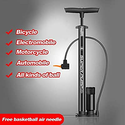 AntPower P38BC-01 Motorcycle Pump Bicycle Bike Cycle Tyre Hand Air Mini Pump : Sports & Outdoors