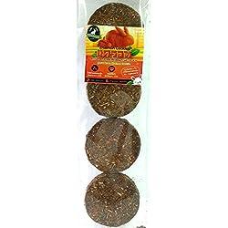 Zhaimon Cookies Timothy Grass Mix Carrot Rabbit food ( Pack 6 )