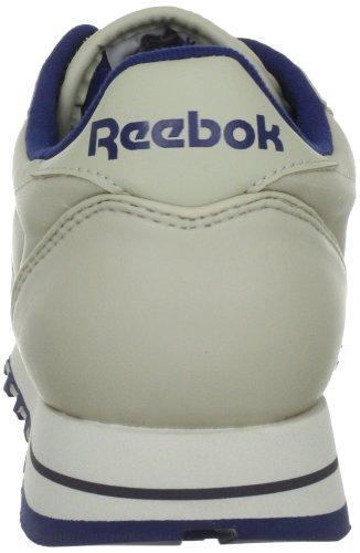 Femme navy Baskets Leather ecru Classic Reebok Beige Basses FqHTaS