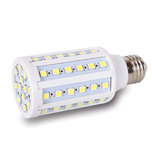 Medium base 12 volt led light bulb dc 12v 20v 6000k bright for Volt landscape lighting